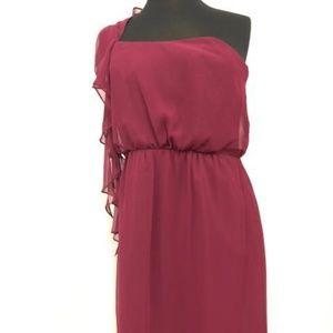 Alvina Valenta Dresses - Alvina Valenta One Shoulder Short Formal Dress